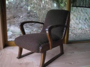 レトロなソファー椅子